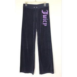 Juicy Couture Fleece Purple Pants
